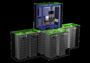 Greenrock batterijen in serie